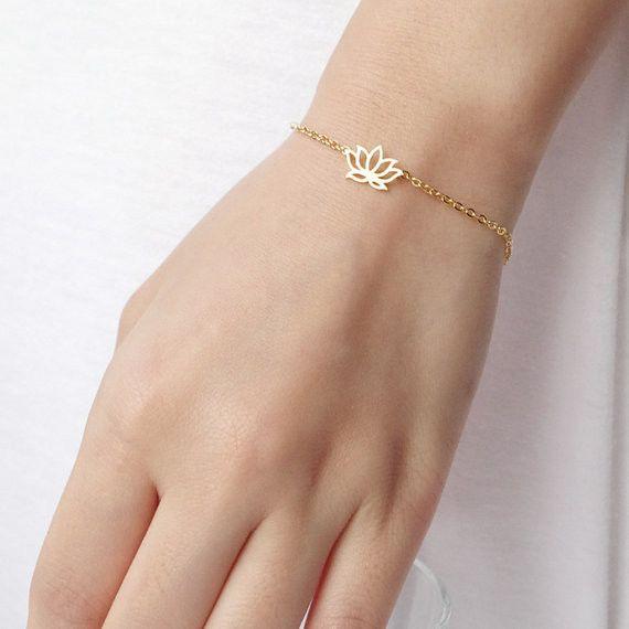 Lovelymusthaves Lotus bloem hippe boho armband