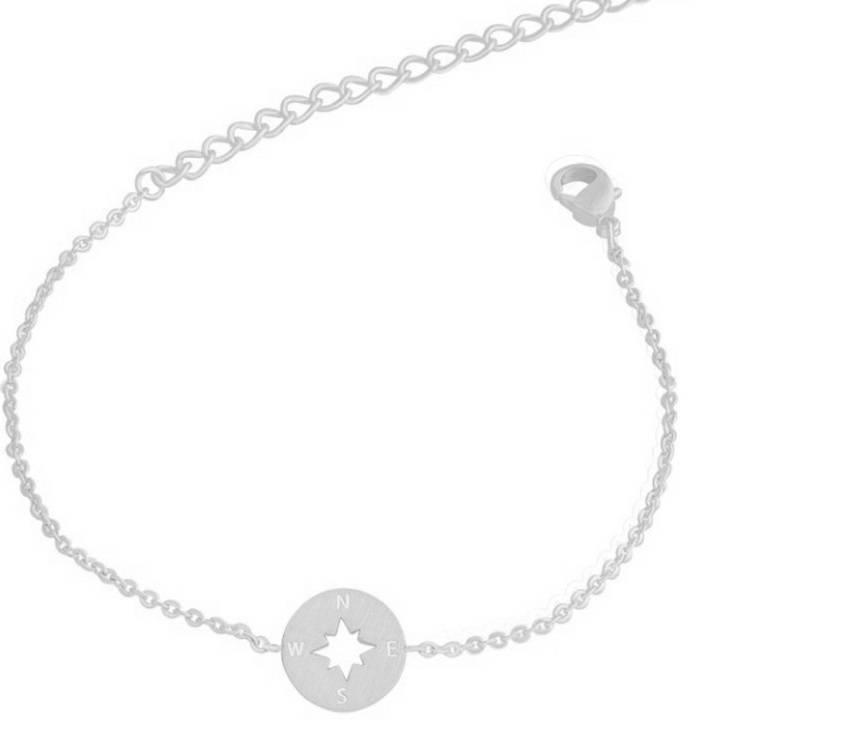 Joboly Kompas trendy richtingwijzer armband