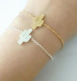 Lovelymusthaves Cactus bracelet silver/gold