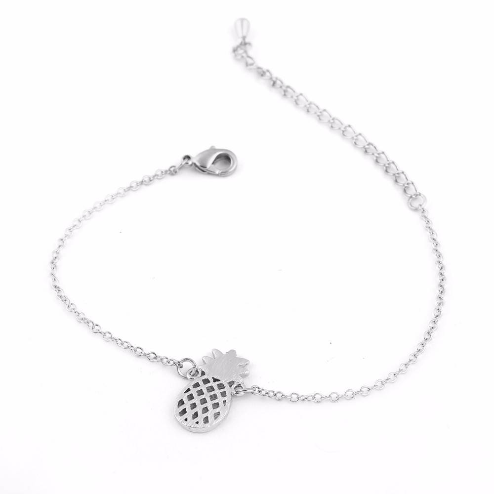 Lovelymusthaves Ananas pineapple hippe armband