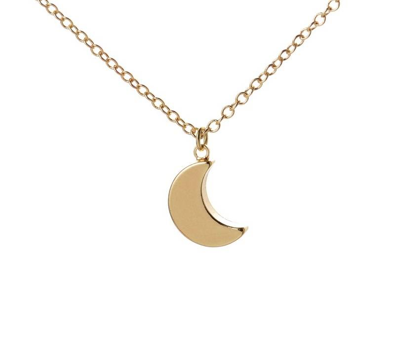 Lovelymusthaves Moon night trendy necklace