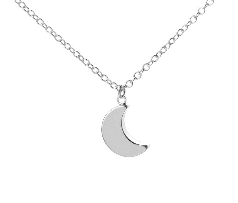 Lovelymusthaves Maan moon nacht hippe ketting