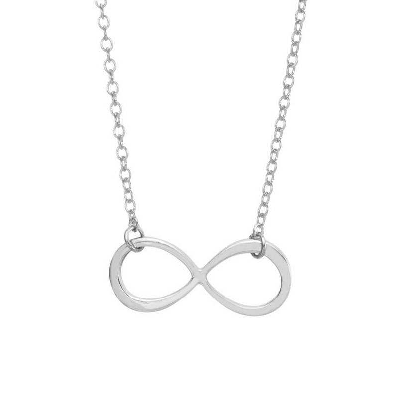 Joboly Infinity necklace silver/gold