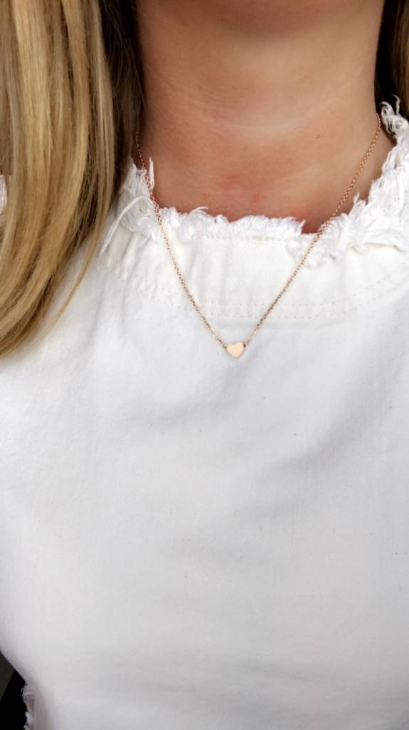 Lovelymusthaves Hart heart love liefde musthave ketting