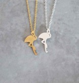 Lovelymusthaves Flamingo ketting helemaal hip