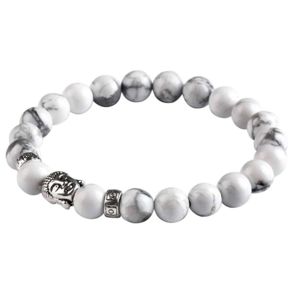Lovelymusthaves Stoere heren / mannen buddha boeddha armband