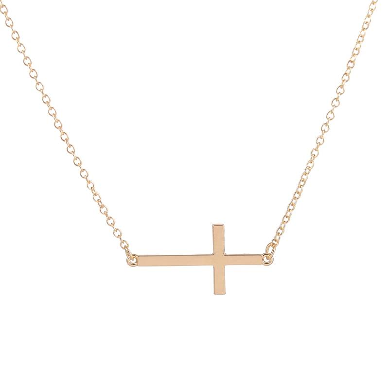 Lovelymusthaves Holy cross god trendy necklace