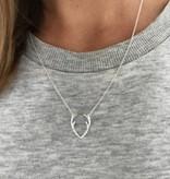 Joboly Hip antler of deer necklace