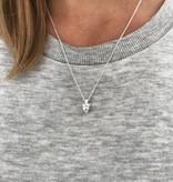 Autumn oak necklace silver/gold