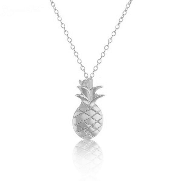 Joboly Ananas pineapple hippe bolle ketting