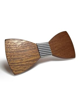 Lovelymusthaves Stylish wooden butterfly bow tie
