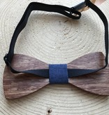 Lovelymusthaves Stijlvolle houten vlinder strik vlinderdas