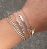 Lovelymusthaves Minimalistic subtle bird bird animal bracelet