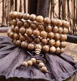 Lovelymusthaves Buddha Bracelet Sandalwood Red brown 6 / 8mm bead
