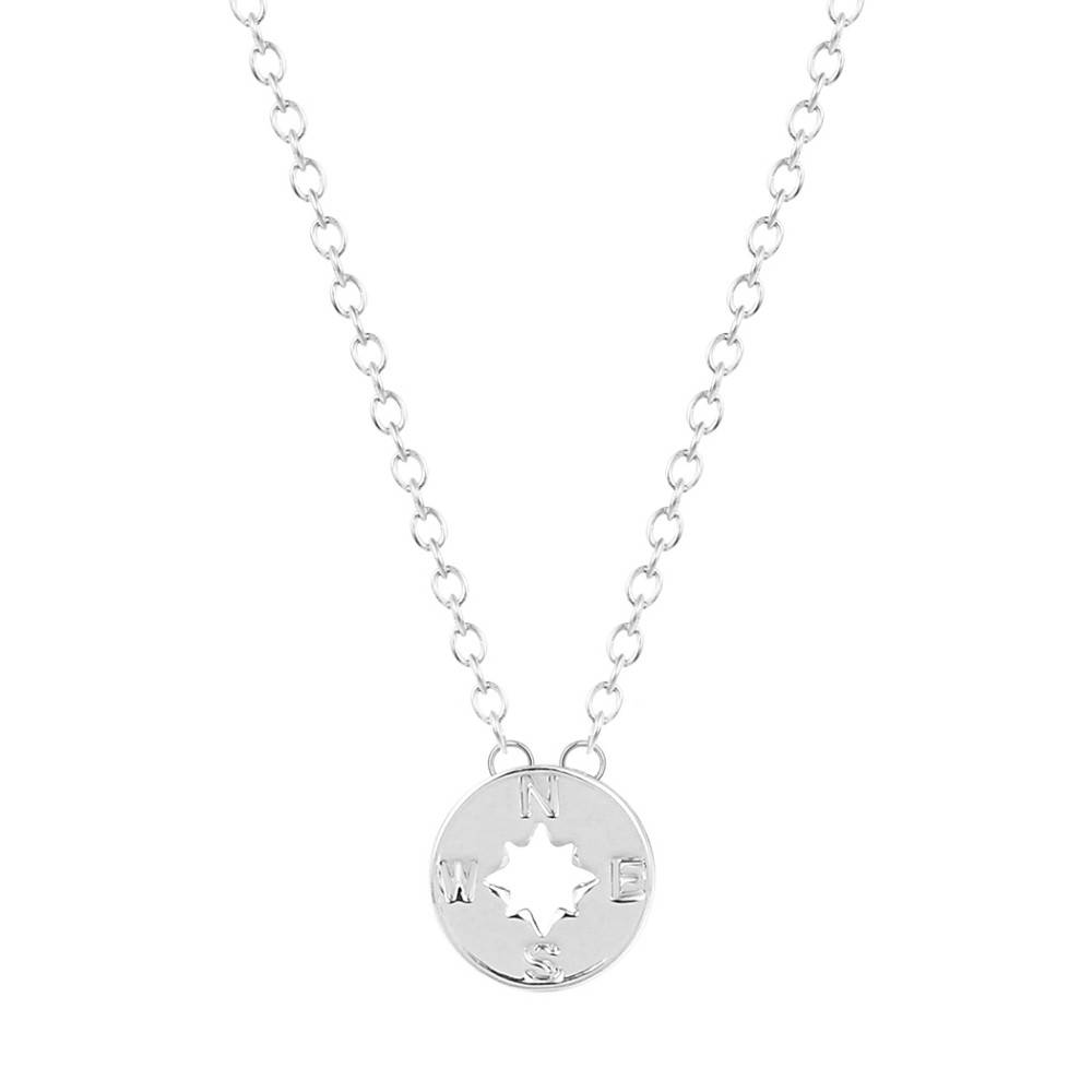 Compass trendy arrow pointer nozw necklace - Lovelymusthaves