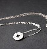 Joboly Compass trendy arrow pointer nozw necklace