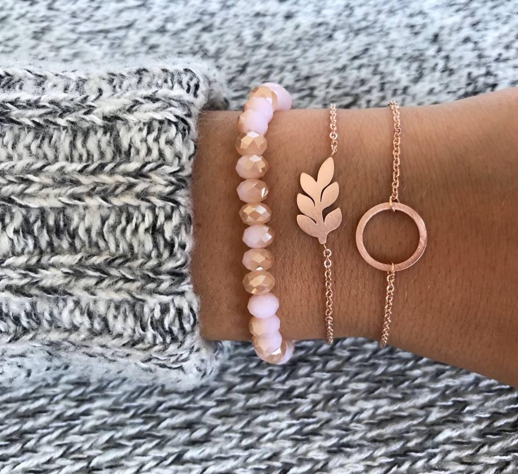 Lovelymusthaves Circle bracelet silver/gold/rosé