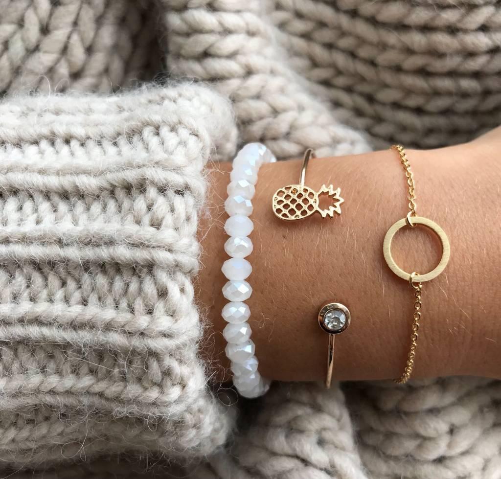 Joboly Kreis minimalistisches Armband