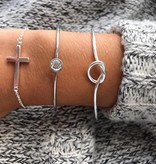Lovelymusthaves Knot knoop verstelbare armband
