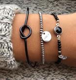Joboly Knot knoop verstelbare armband