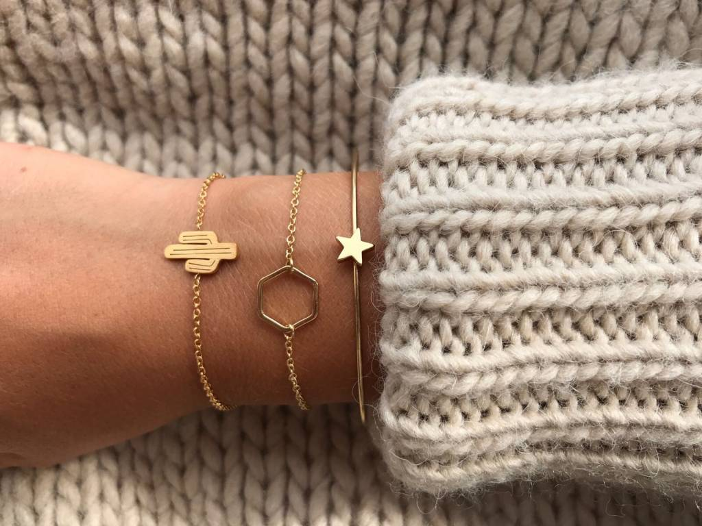 Lovelymusthaves Cactus hippe armband