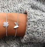 Lovelymusthaves Vlinder butterfly trendy armband