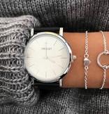 Lovelymusthaves Heart love minimalist bracelet silver/gold