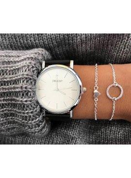 Jewelry bracelet heart heart heart love subtly minimalistic