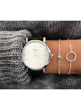 Joboly Sieraden armband hart hartje heart liefde subtiel minimalistisch