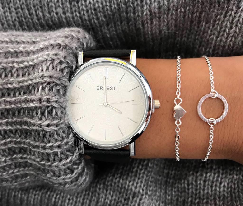 Lovelymusthaves Sieraden armband hart hartje heart liefde subtiel minimalistisch