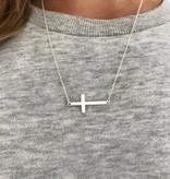 Heilig kruis god trendy ketting