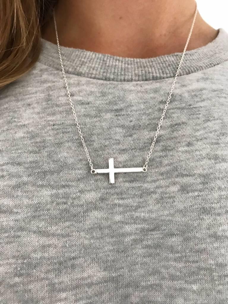 Joboly Modische Halskette des heiligen Kreuzgottes