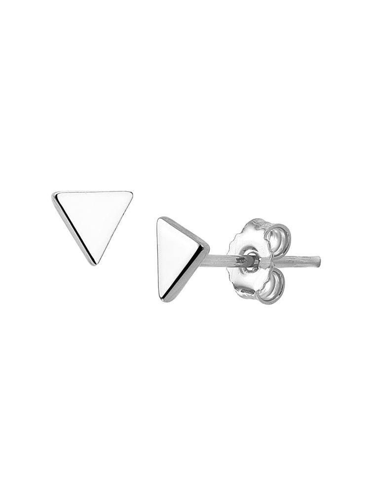 Joboly Joboly Ohrringe Dreieck - Frauen - 925 Silber-Ohrringe Bolzen