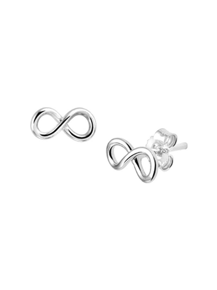 Joboly Joboly Jewelery Earrings Infinity - Ladies - stud earrings 925 Silver