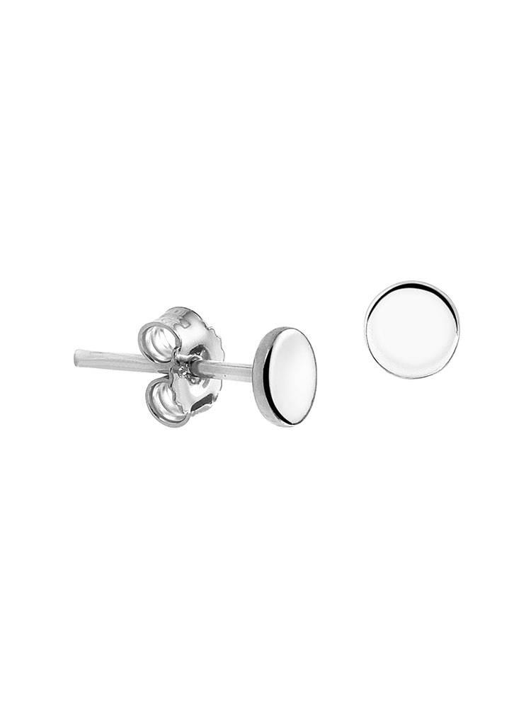 Joboly Joboly Sieraden Oorbellen  Dichte Cirkel - Dames - oorknopjes 925 Zilver