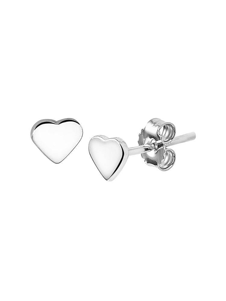 Joboly Joboly Sieraden Oorbellen Hartjes - Dames - oorknopjes 925 Zilver