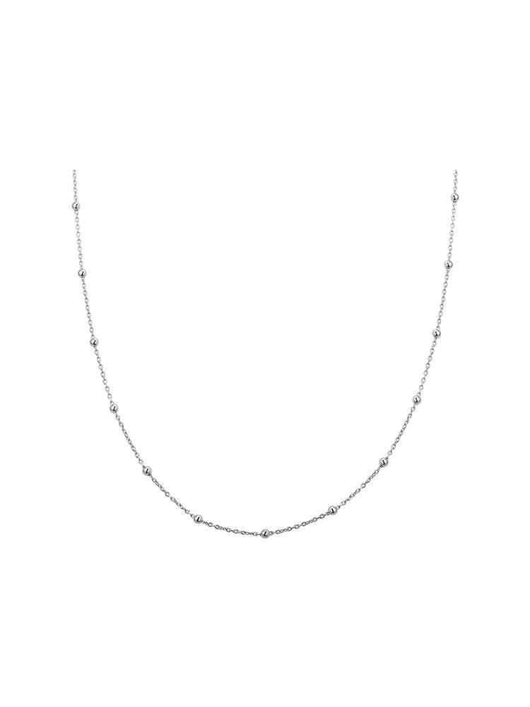 Joboly Joboly Sieraden Bolletjes Ketting - Dames - 925 Zilver
