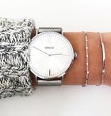 Joboly Joboly Sieraden Armband Bar - Dames - 925 Zilver