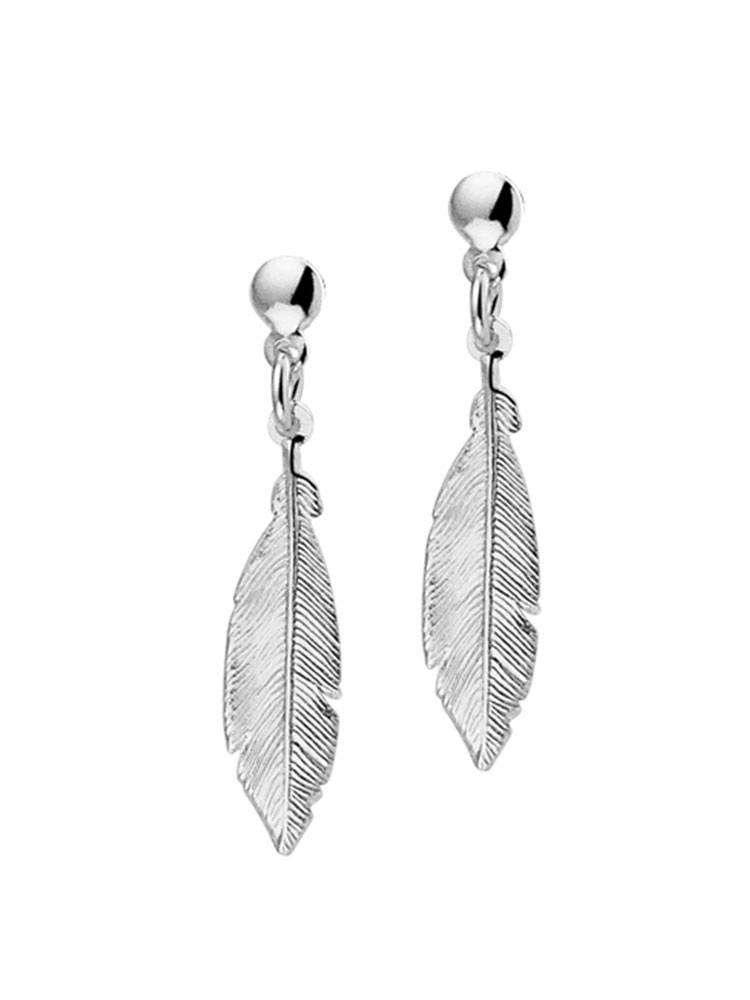 Joboly Joboly Jewellery Earrings Feather - Damen - Ohrstecker 925er Silber