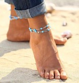 Lovelymusthaves Beads ankle strap