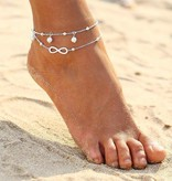 Infinity ankle strap