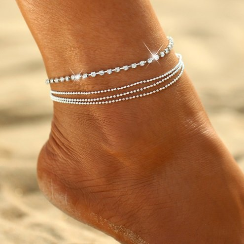 Lovelymusthaves Ball ankle strap