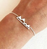 Lovelymusthaves Mountain travel bracelet