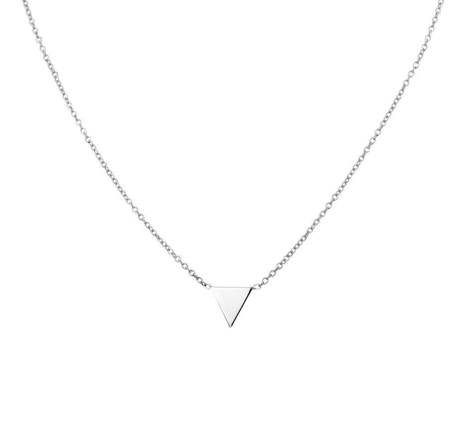 Joboly Joboly Sieraden Driehoek Ketting - Dames 925 Zilver