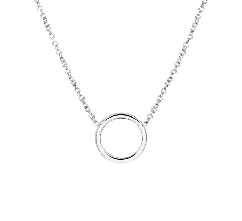 Joboly Joboly Jewelry Circle Necklace - Ladies 925 Silver