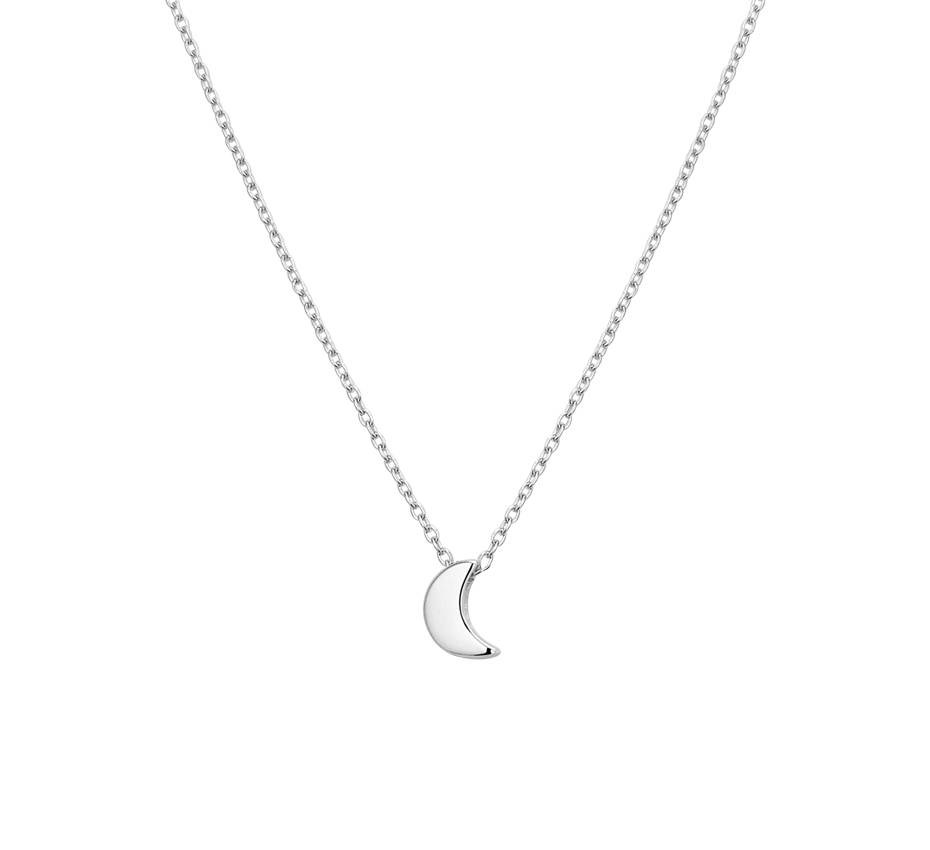 Joboly Joboly Jewelery Moon Necklace - Ladies 925 Silver
