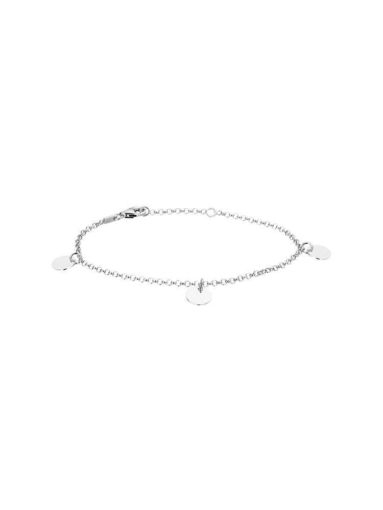 Joboly Joboly Sieraden Armband Coin - Dames - 925 Zilver