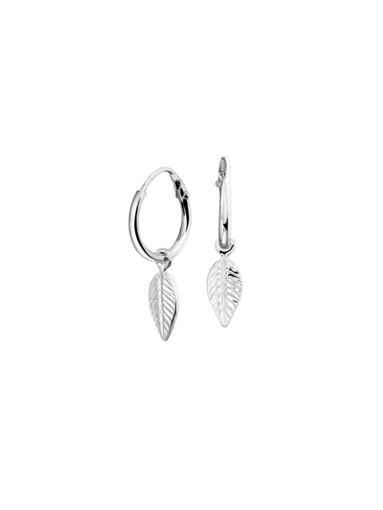 Joboly Joboly Sieraden Oorbellen Leaf - Dames - oorknopjes 925 Zilver