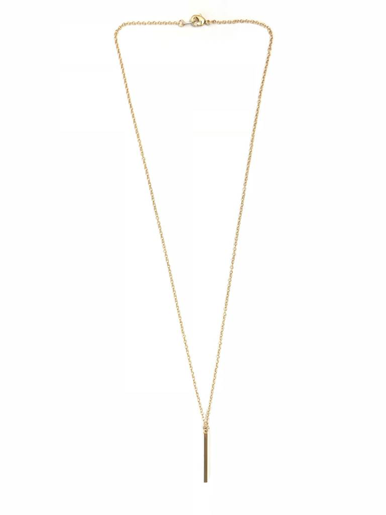 Lovelymusthaves Bar minimalist bar necklace