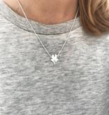 Joboly Leaf clover necklace